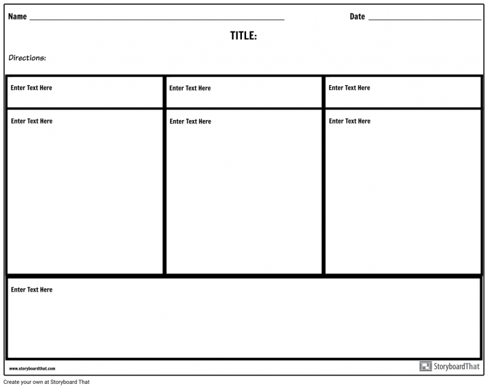 Three Column Notes With Summary Storyboard By Worksheet