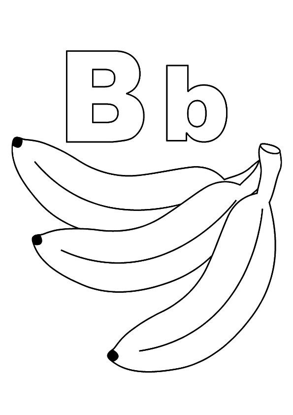 Top  Letter B Coloring Pages Your Toddler Will Love To Learn