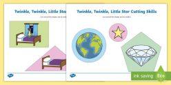 Find The Letter T: Twinkle, Twinkle, Little Star