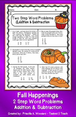 Raffle Time: Addition Word Problems