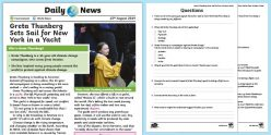 Who Is Greta Thunberg? Reader