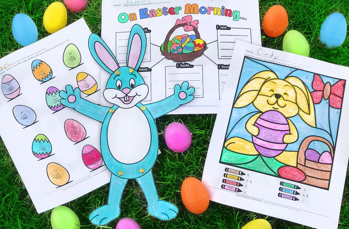 Visit The Superteacherworksheets Easter Page To Print Out