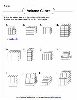 What Do Cubes Have To Do With Volume?