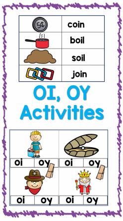 """Vowel Diphthongs: """"Oy"""""""