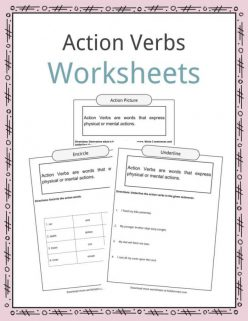 Point Out The Action Verbs