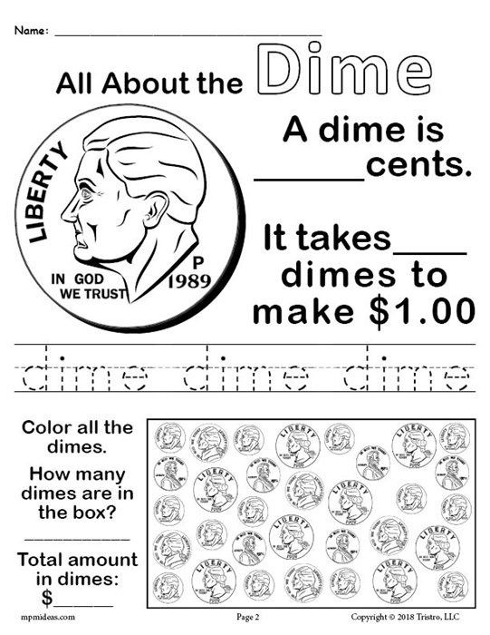 All About Coins  Printable Money Worksheets With Images