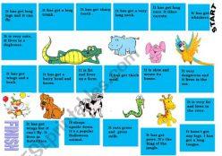 Jungle Board Game
