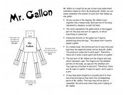 Gallon Man Printable