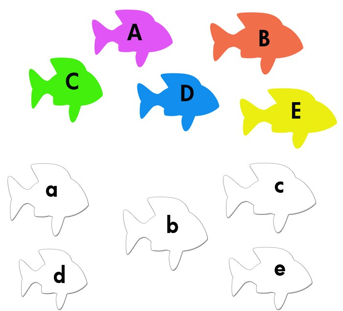 Best Images Of Printable Kindergarten Alphabet Games