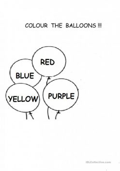 How Many Are There? Balloons