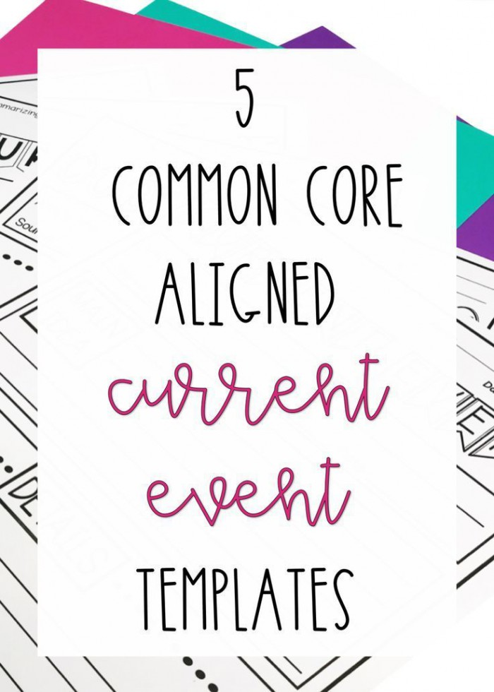 Common Core Current Event Reports