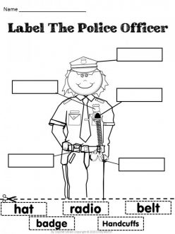 P Is For Police Officer