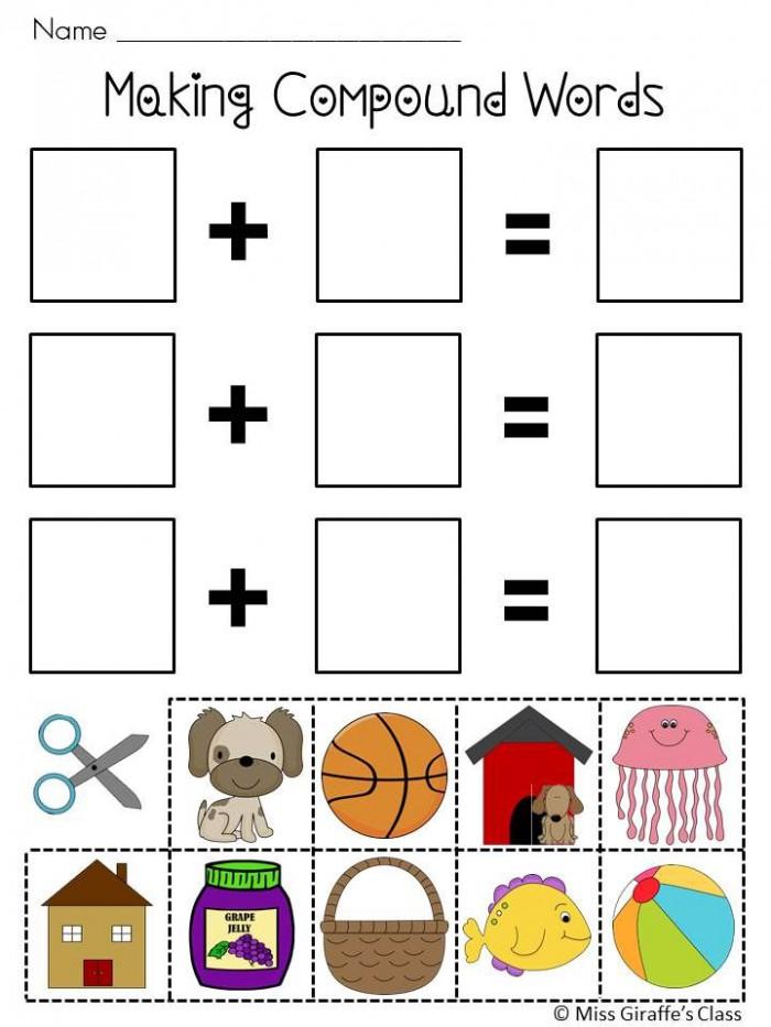 Compound Words For Kids Worksheets   99Worksheets