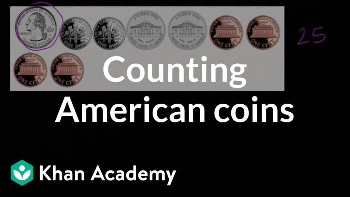 Counting American Coins Video