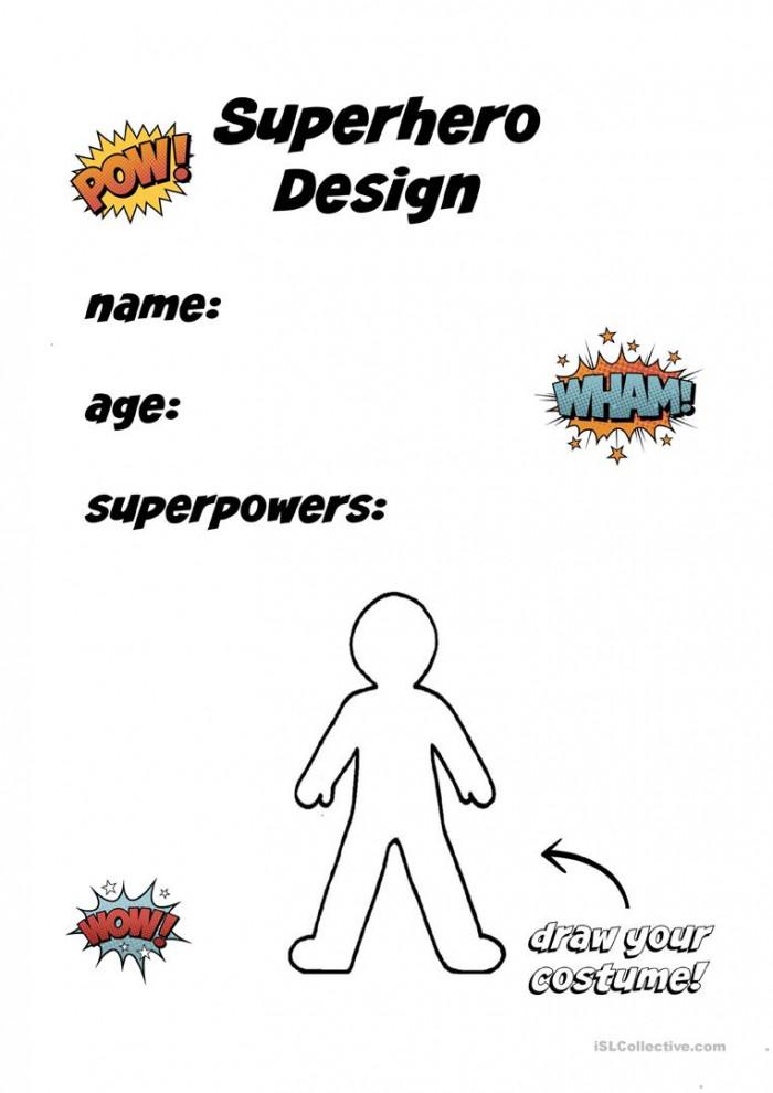 Create A Superhero