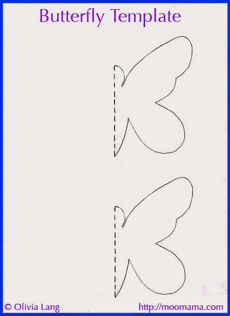 Diy D Butterfly Wall Art With Free Templates With Images