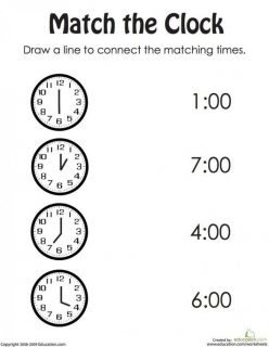 Match The Clock II