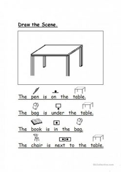 Drawing Prepositions