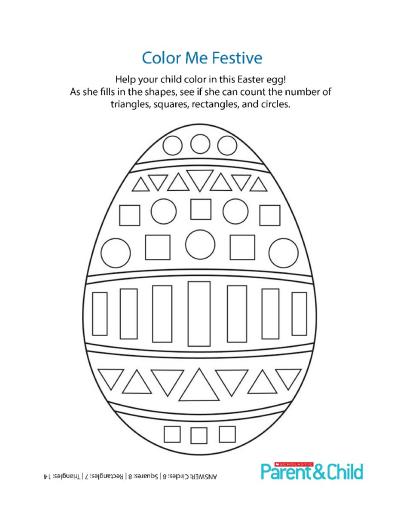 Egg Shape Printable