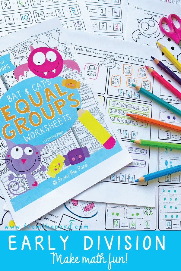 Equal Groups For Division And Multiplication