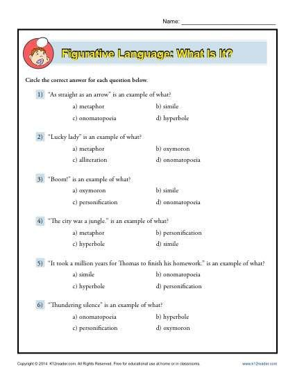 Figurative Language What Is It