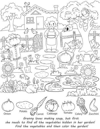 Find The Hidden Objects Worksheets 99worksheets