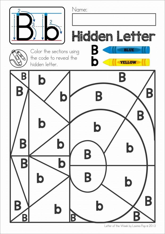 Hidden Alphabet Worksheets 99Worksheets