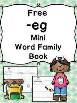 """""""Eg"""" Word Family"""