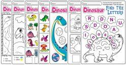 Printable Dinosaurs