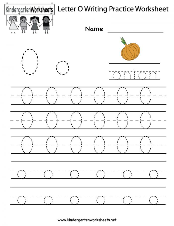 Free Letter O Worksheets For Preschool