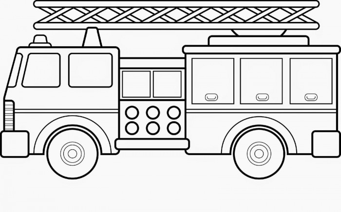 - Fire Truck Coloring Page Worksheets 99Worksheets