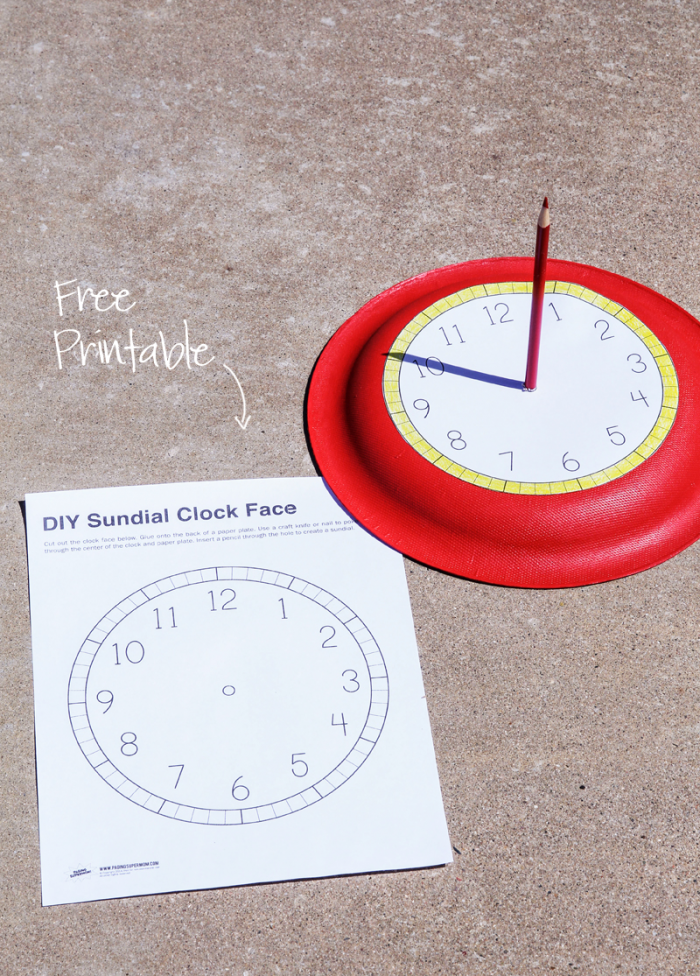 Free Printable Sundial Clockface With Images