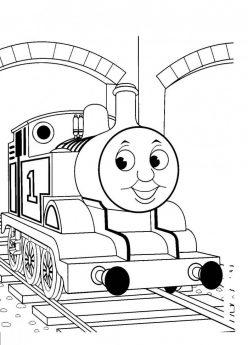 Choo-Choo Train Coloring Page