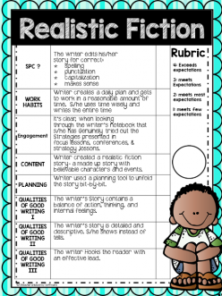 Realistic Fiction Writing Assessment
