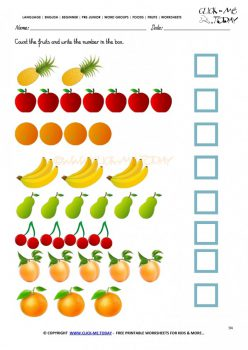 Count The Fruit