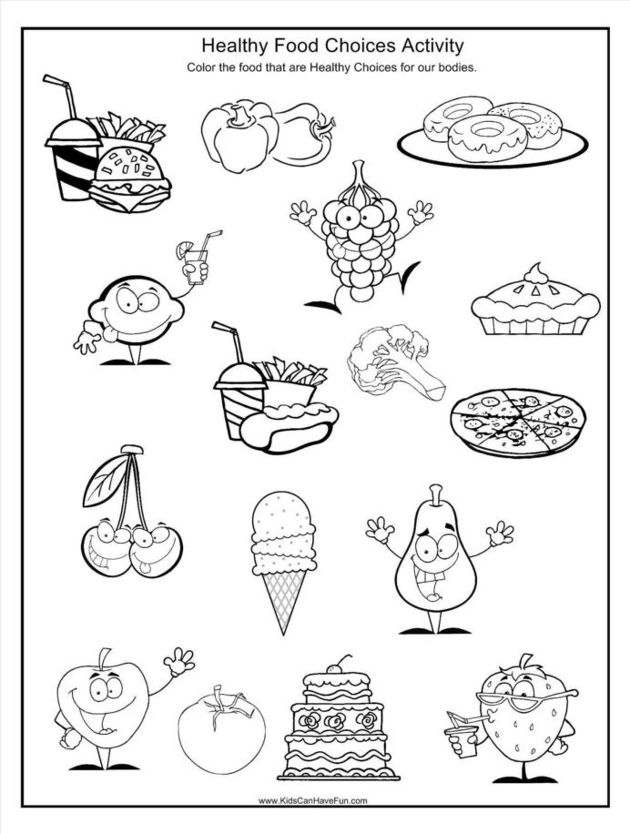 Go Food Worksheet Printable Worksheets And Activities For Groups