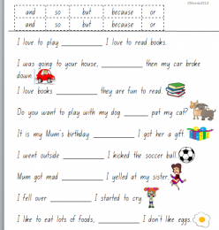 Conjunction Examples For Kids