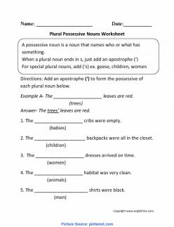 Great Grammar: Plural Possessive Nouns