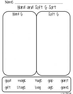 Hard Or Soft G Sort