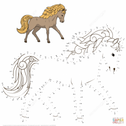 Dot To Dot Horse