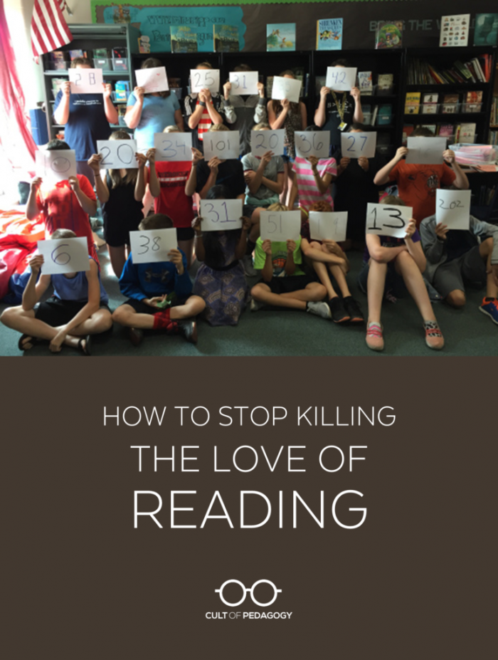 How To Stop Killing The Love Of Reading