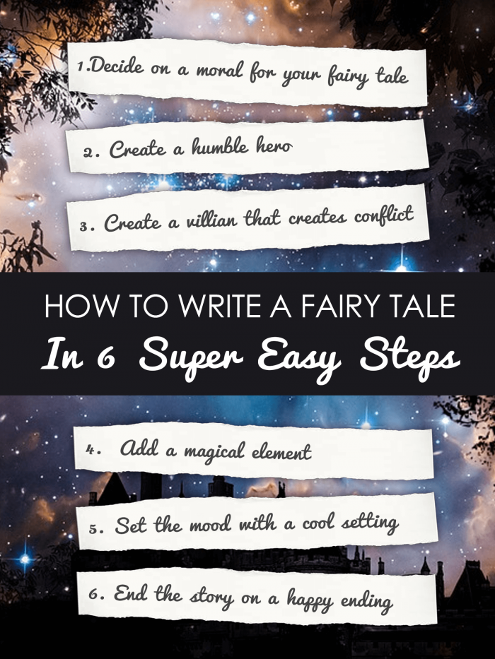 How To Write A Fairy Tale In  Steps