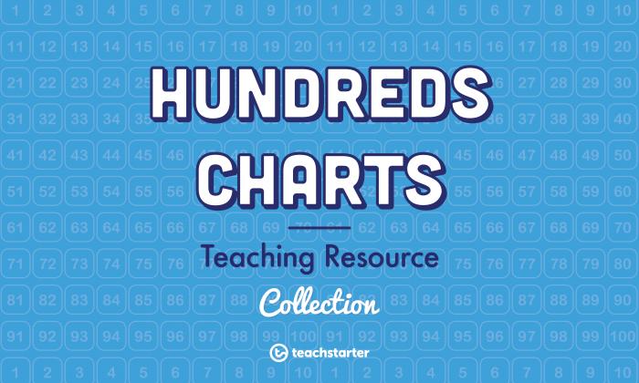 Hundreds Charts Teaching Resources  Worksheets   Activities