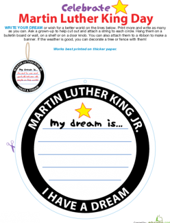 Martin Luther King, Jr. And His Dream