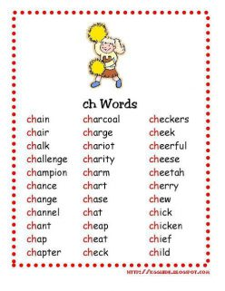Chicken Checkers: Learning About Ch Sounds