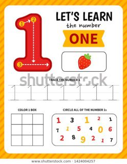Learning Numbers: Number 1