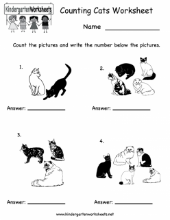 Counting Animals: Cats