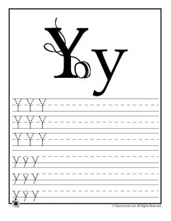 Learning The Letter Y