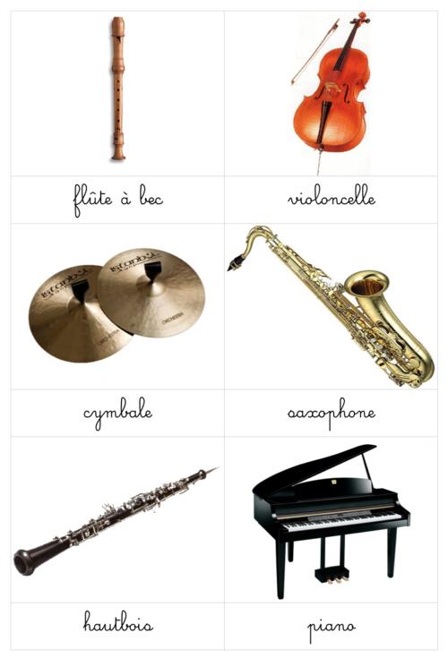 Les Instruments De Musique Avec Images