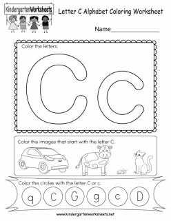 """Spanish Alphabet: """"C"""""""